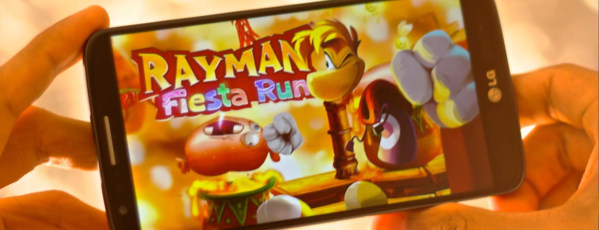 Rayman Run series